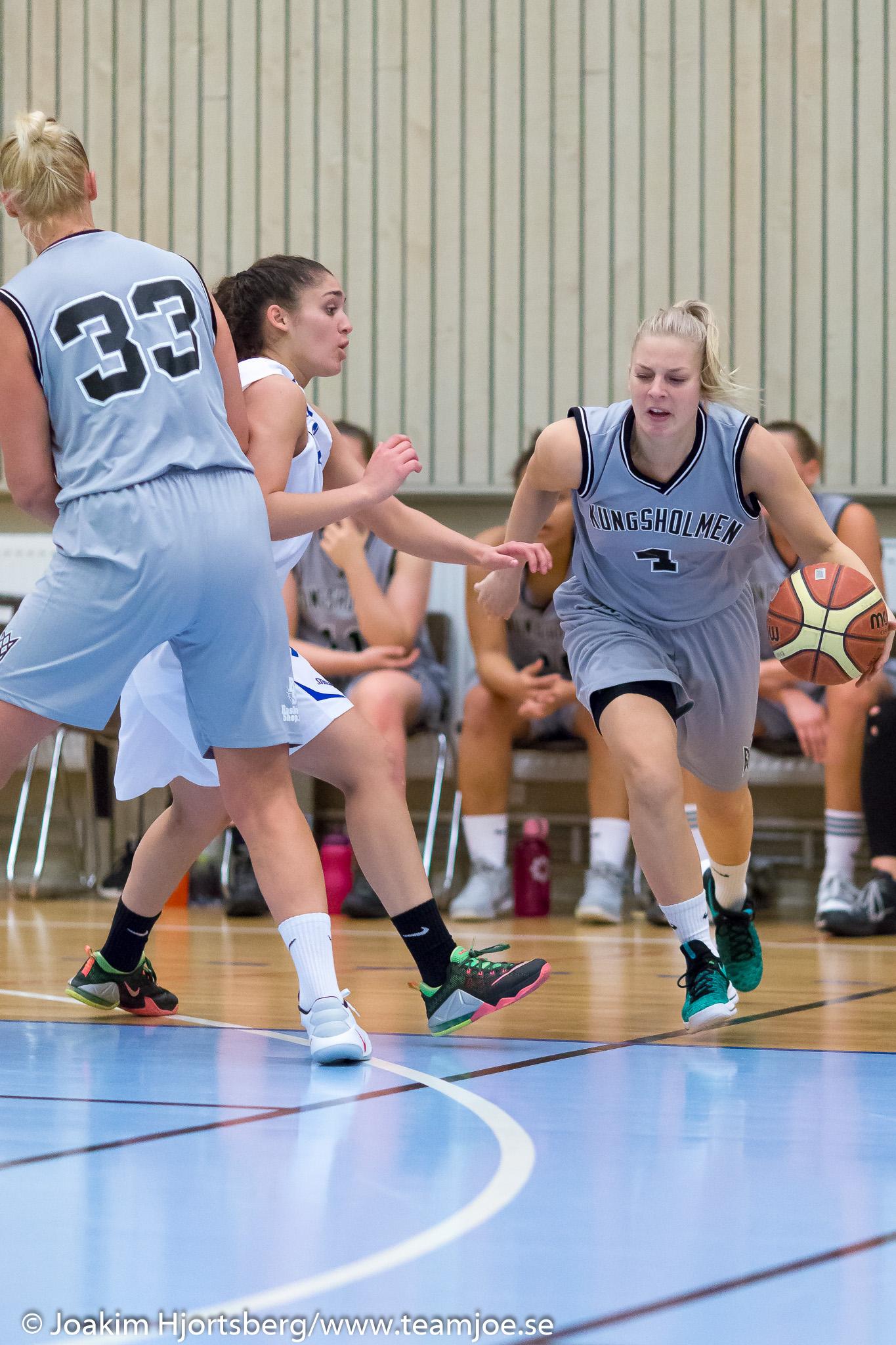 2016-10-09 KFUM Örebro Basket-Kungsholmen Basket