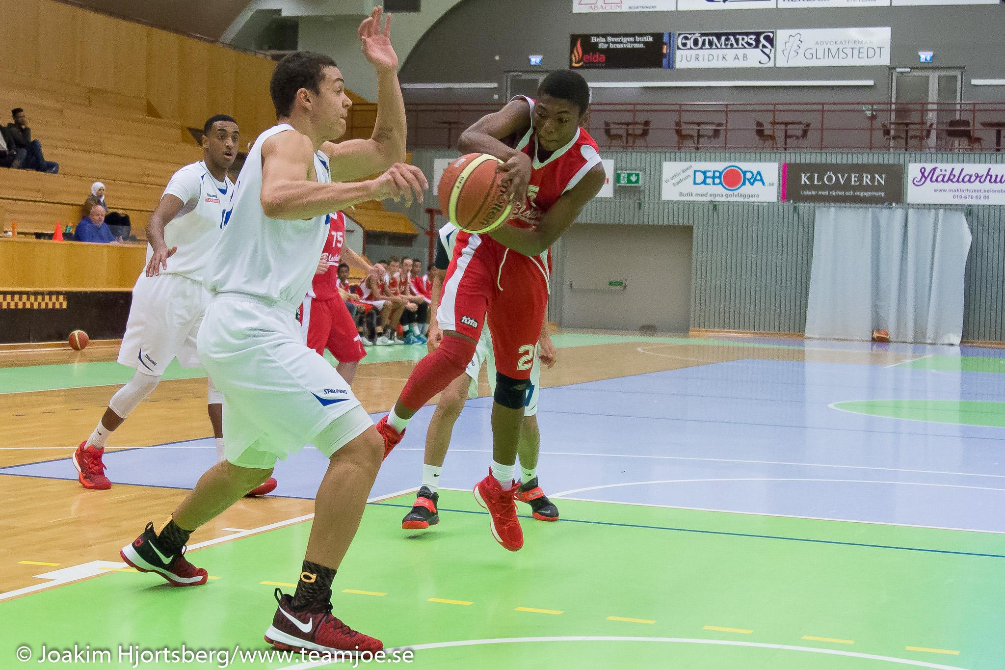 2016-11-06 KFUM Örebro Basket-KFUM Vällingby